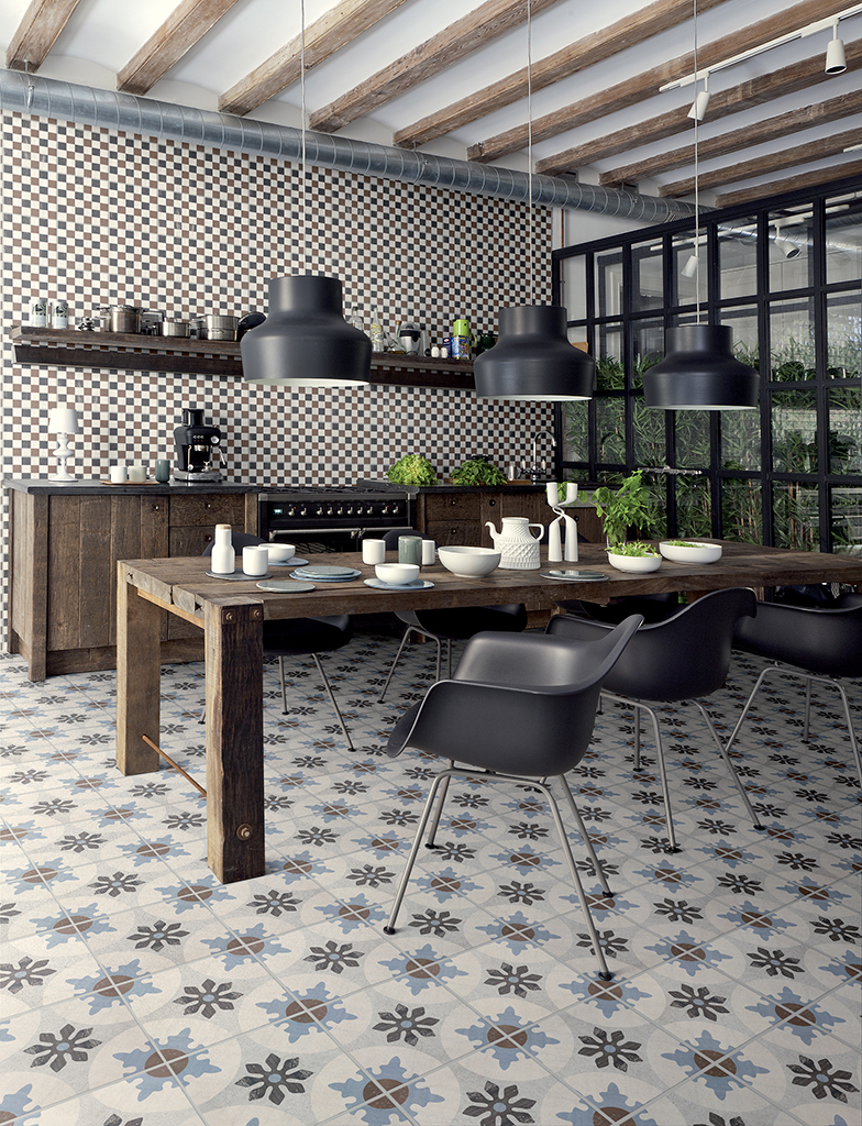 Patterned Tiles | My Little House
